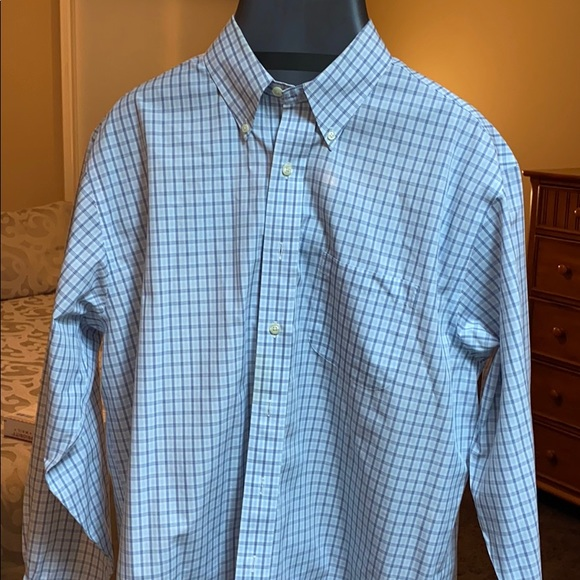 Brooks Brothers Other - Brooks Brothers L 100% cotton dress shirt checked